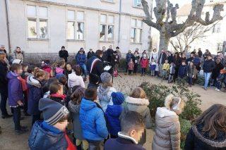 Brindas - inauguration de l'arbre de la laïcité
