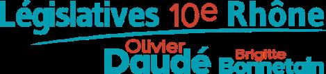 législatives 10e rhône Olivier Daudé Brigitte Bonnetain