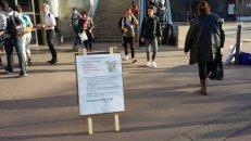Tractage Gorge de loup - marche 23 septembre Paris Bastille